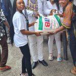 Kinshasa : Bethy Pitilo fait don d'une quantité importante de vivre aux orphélinats du district de Mont Amba