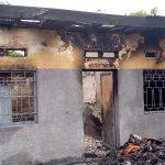 Kinshasa – Un batiment de la paroisse Saint Ngonza décimé par un incendie : Le député Gecoco Mulumba a pris en charge les frais de réhabilitation
