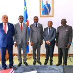 RDC : Les membres du conseil d'administration de la SNEL ont échangé avec le président du sénat Bahati Lukwebo