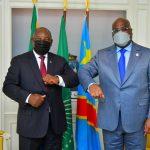 Paris : La gouvernance de la SADC au centre des échanges entre Félix Tshisekedi et Cyril Ramaphosa