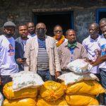 Eruption du Nyirangongo : Jacquemain Shabani et la Fondation Bin Biteko Juu Ya Amanivolent au secours de 450 ménages sinistrés et d'une trentaine de déplacés malades