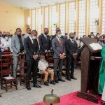 RDC : Le ministre de la jeunesse Yves Bunkulu a assisté au culte d'action de grâce en faveur des sinistrés de Goma