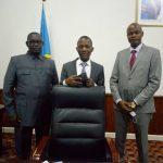 Sud – Ubangi – Cinquantenaire de la ville de Zongo : Les députés Jacques Segbewi et Roger Sido reçus par le 2ème Vice-président de l'Assemblée nationale