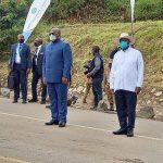 RDC- Ouganda : Felix Tshisekedi et Yoweri Museveni ont inauguré le grand chantier de rénovation des routes réliant les deux pays