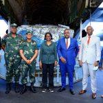 Goma : Le Congo Brazzaville fait un don de 84 tonnes de vivres et non vivres aux sinistrés du volcan Nyiragongo