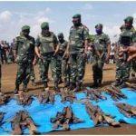 Nord Kivu : 145 combattants se sont rendus volontairement aux autorités avec leurs armes