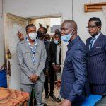 RDC : Le Ministre de la jeunesse a effectué une visite bâtiment administratif de son ministère pour s'imprégner des conditions de travail des agents