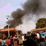 Mbuji-Mayi : Trois véhicules totalement endommagés par un incendie dans l'enceinte d'une station d'essence dans la commune de Dibindi