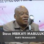 """RDC : """"Nous voulons, qu'il n'y ait, au gouvernement, que des gens qui vont défendre leur bilan en 2023"""" (Steve Mbikayi)"""