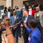 RDC : Mike Hammer a effectué une visite au port international de Matadi au barrage d'Inga