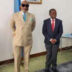 RDC : L'Artiste Musicien Koffi Olomide adhère à AFDC-A du professeur Bahati Lukwebo