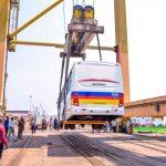 RDC : Le Ministre des Transports a affecté 10 bus de la société Transco à la province du Haut Uélé