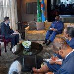 RDC : Le secrétaire d'État américian salue le leadership du président Tshisekedi en tant que président de l'Union africaine