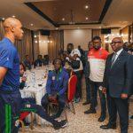 Football :Sama Lukonde a motivé le Léopards avant leur match de qualification à la coupe du monde Qatar-2022 face à la Tanzanie