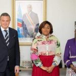 """RDC : Des membres du groupe """"One place One genre"""" ont échangé avec la première dame, Denise Nyakeru"""