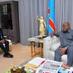 RDC : Christophe Mboso N'kodia a présenté à Félix Tshisekedi le rapport sur le fonctionnement de la chambre basse du Parlement