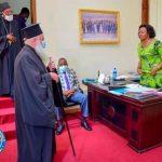 Kasaï Oriental : Mgr Théodose félicite le gouverneur a.i pour son dynamisme