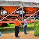 Kasaï oriental : Le gouverneur a.i a visité les installations de l'Office des routes à Mbujimayi