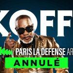 Musique : Le concert de Koffi Olomide à Paris annulé pour cause de Covid-19